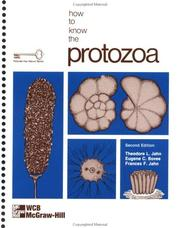 How to know the Protozoa by Theodore Louis Jahn