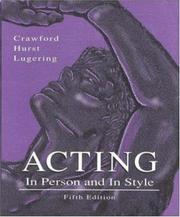 Acting, in person and in style PDF