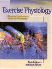 Exercise physiology by Scott K. Powers