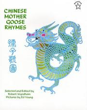 Chinese Mother Goose Rhymes by Robert Wyndham
