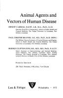 Animal agents and vectors of human disease by Ernest Carroll Faust