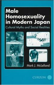 Male Homosexuality in Modern Japan PDF