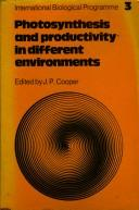 Photosynthesis and productivity in different environments PDF