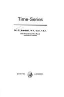 Time-series by Maurice G. Kendall