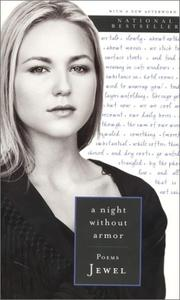Cover of: A Night Without Armor  by Jewel