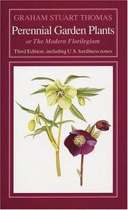 Perennial garden plants PDF