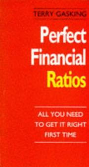 Perfect financial ratios PDF