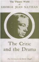 The critic and the drama by Nathan, George Jean