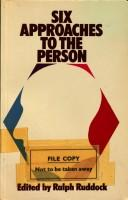 Six approaches to the person PDF