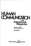 Human communication by Stewart L. Tubbs
