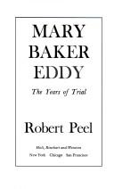 Mary Baker Eddy by Peel, Robert