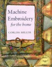 Machine embroidery for the home PDF