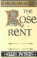 The Rose Rent by Edith Pargeter
