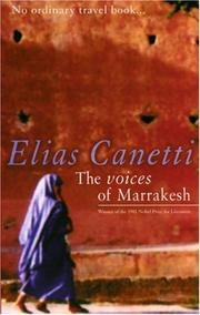 Stimmen von Marrakesch by Elias Canetti