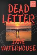 Dead letter by Jane Waterhouse