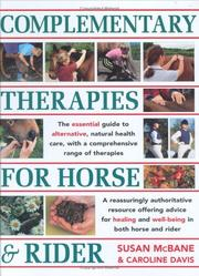 Complementary Therapies for Horse & Rider PDF