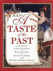 A Taste Of The Past PDF
