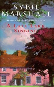 A Late Lark Singing PDF