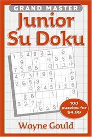 Grand Master Junior Sudoku PDF