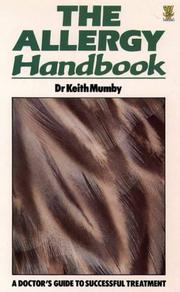 The allergy handbook by Keith Mumby