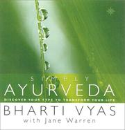 Simply Ayurveda by Bharti Vyas