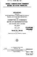 Federal Communications Commission reform PDF
