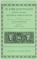 Institutio oratoria by Quintilian.