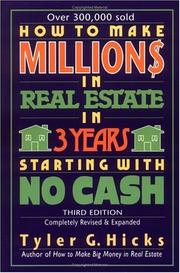 How to Make Million$ in Real Estate in Three Years Starting with No Cash PDF