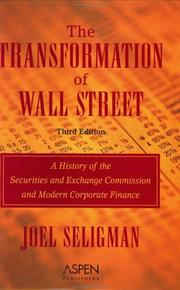 The transformation of Wall Street PDF