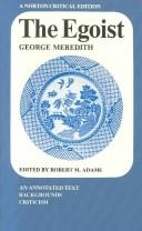 Cover of: The egoist by George Meredith