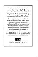 Rockdale by Wallace, Anthony F. C.