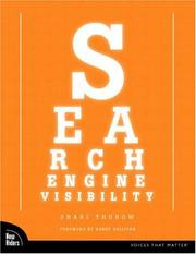 Search engine visibility by Shari Thurow