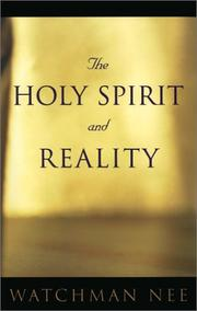 The Holy Spirit and Reality PDF