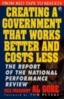 Creating a government that works better & costs less PDF