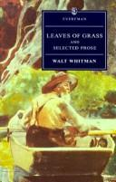 Leaves of grass and selected prose PDF