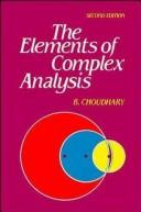 The elements of complex analysis by B. Choudhary