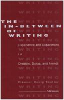 The in-between of writing by Eleanor Honig Skoller