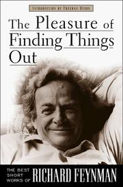 Cover of: The Pleasure of Finding Things Out by Richard Phillips Feynman