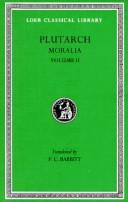 Cover of: Moralia by Plutarch