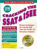 Cracking the SSAT/ISEE, 1998 Edition