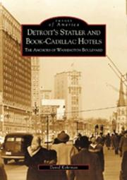 Detroit's Statler and Book-Cadillac Hotels PDF