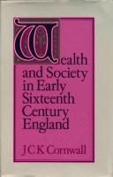 Wealth and Society in Early Sixteenth Century England PDF