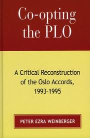 Co-opting the PLO by Peter Ezra Weinberger