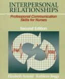 Interpersonal relationships by Arnold, Elizabeth.
