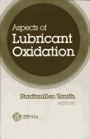Aspects of Lubricant Oxidation PDF
