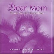 Dear Mom Thank You For Everything PDF
