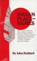 Indian place-names by John Rydjord