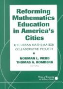 Reforming Mathematics Education in America's Cities by Norman Lott Webb