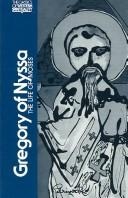 Cover of: De vita Moysis by Gregory of Nyssa, Saint