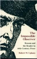Cover of: The Impossible Observer by Uphaus, Robert W.